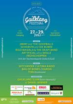 Foto vom Plakat Gailklang Festival 2017
